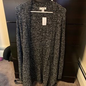 Christopher and banks belted cardigan